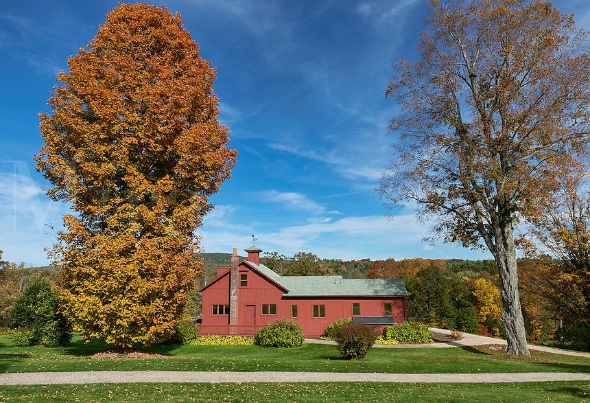 The Norman Rockwell Museum and studio, Stockbridge, Massacusetts, USA