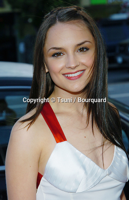 Rachel Leigh Cook arriving at the Stateside Premiere at The Crest Theatre in Los Angeles. May 18, 2004.