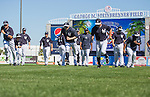 Ichiro Suzuki (Yankees),<br /> FEBRUARY 20, 2014 - MLB : Ichiro Suzuki (C) and Derek Jeter (L) of the New York Yankees during the the first day of the Yankees spring training baseball camp at George M. Steinbrenner Field in Tampa, Florida, United States.<br /> (Photo by Thomas Anderson/AFLO) (JAPANESE NEWSPAPER OUT)