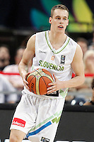 Slovenia's Klemen Prepelic during 2014 FIBA Basketball World Cup Quarter-Finals match.September 9,2014.(ALTERPHOTOS/Acero)