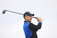Stephen Gallacher (SCO) on the 2nd tee during Round 1 of the Dubai Duty Free Irish Open at Ballyliffin Golf Club, Donegal on Thursday 5th July 2018.<br /> Picture:  Thos Caffrey / Golffile