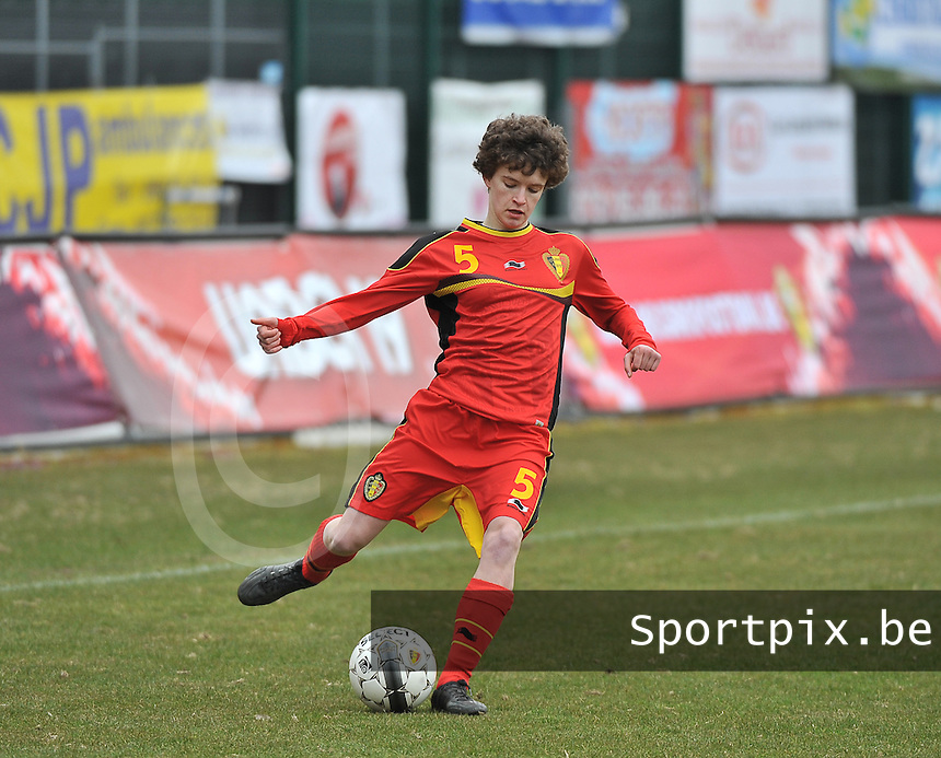 Belgium U19 - Switzerland U19 : Tinne Van Den Bergh.foto DAVID CATRY / Nikonpro.be