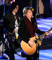 NEW YORK, NY - DECEMBER 04: John Rzeznik of Goo Goo Dolls attending the 81st Annual Rockefeller Center Christmas Tree Lighting Ceremony held at Rockefeller Center on December 4, 2013 in New York City. (Photo by Jeffery Duran/Celebrity Monitor)