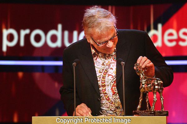 20121005 - Utrecht - Foto: Ramon MAngold - Nederlands Film festival, NFF 2012, Gala van de Nederlandse FIlm. Gouden Kalf voor Beste Production Design voor Wilbert van Dorp voor DE HEINEKEN ONTVOERING.