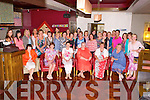 RETIREMENT: Betty McCarthy, Killarney (seated 4th left) having a great time celebrating her retirement with family and friends at Gally's bar and restaurant, Tralee on Friday.