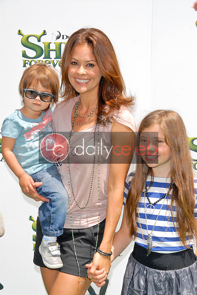 """Brooke Burke<br /> at the """"Shrek Forever After"""" Los Angeles Premiere, Gibson Amphitheater, Universal City, CA. 05-16-10<br /> David Edwards/DailyCeleb.com 818-249-4998"""