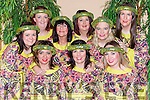 Appearing in the Robin Hood panto in Killorglin CYMS on Sunday were front row l-r: Magda Kaofnowska, Angie Donoghue and Lucinda Moriarty. Back row: Celina O'Grady, Jacqueline O'Connor, Liz Hatten, Rachel O'Connor, Tricia Begley and Elaine Granfield