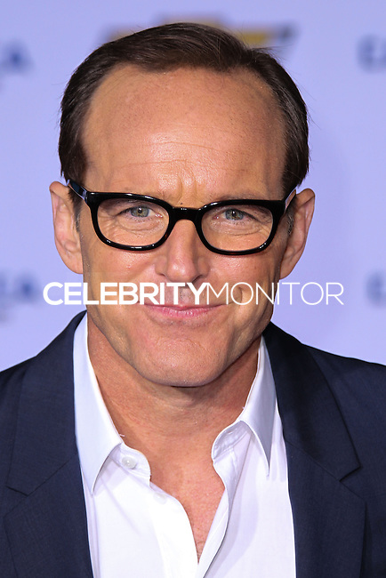 """HOLLYWOOD, LOS ANGELES, CA, USA - MARCH 13: Clark Gregg at the World Premiere Of Marvel's """"Captain America: The Winter Soldier"""" held at the El Capitan Theatre on March 13, 2014 in Hollywood, Los Angeles, California, United States. (Photo by Xavier Collin/Celebrity Monitor)"""