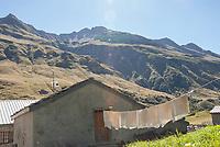 Beaufort dairy, Mont Blanc, September 2007