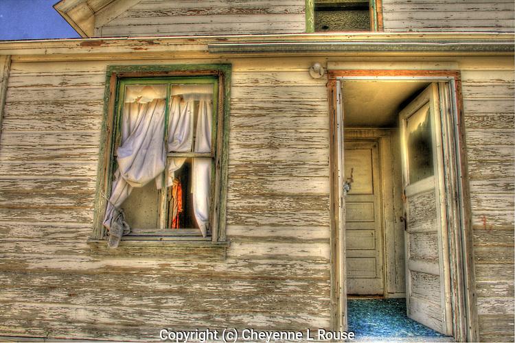 Abandoned House in Utah - the window