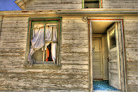 Abandoned House in Utah - the window