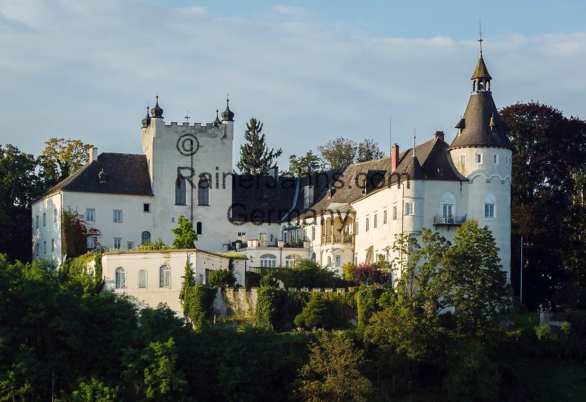 Oesterreich, Oberoesterreich, Ottensheim im oberen Muehlviertel: Schloss Ottensheim   Austria, Upper Austria, Ottensheim in Upper Muehlviertel: Castle Ottensheim