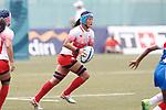Yukari Tateyama (JPN), <br /> AUGUST 30, 2018 - Rugby : <br /> Women's Group A match <br /> between Japan 65-0 Idonesia <br /> at Gelora Bung Karno Rugby Field <br /> during the 2018 Jakarta Palembang Asian Games <br /> in Jakartan, Idonesia. <br /> (Photo by Naoki Morita/AFLO SPORT)