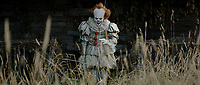 It (2017)<br /> BILL SKARSGARD as Pennywise<br /> *Filmstill - Editorial Use Only*<br /> CAP/KFS<br /> Image supplied by Capital Pictures