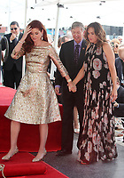 HOLLYWOOD, CA - October 06: Debra Messing, Mariska Hargitay, At Debra Messing Honored With Star On The Hollywood Walk Of Fame At On The Hollywood Walk Of Fame In California on September 06, 2017. <br /> CAP/MPI/FS<br /> &copy;FS/MPI/Capital Pictures