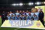 Atlético Junior se coronó campeón de la Copa Águila 2015 tras ganar 2-1 en el marcador globar, tras derrotar a Santa Fe 2-0 en Barranquilla y caer a manos de os capitalinos 0-1 en el partido de vuelta, disputado en el Nemesio Camacho El Campín.