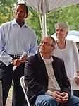 Milton Mathews, Jon Weinstein and Mary Kay