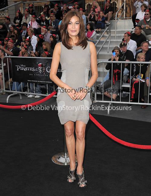 Teri Hatcher at Walt Disney Pictures Premiere of Pirates of the Caribbean : On Stranger Tides held at Disneyland in Anaheim, California on May 07,2011                                                                               © 2010 Hollywood Press Agency