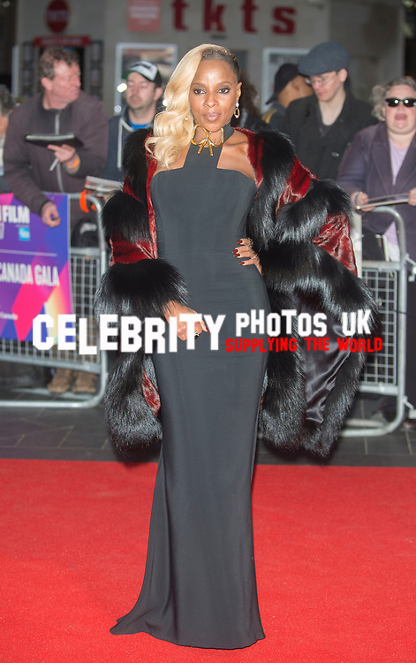 Mary J Blige at the 'Mudbound' film premiere, BFI London Film Festival