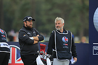 Shane Lowry (IRL) on the 14th tee during Round 1of the Sky Sports British Masters at Walton Heath Golf Club in Tadworth, Surrey, England on Thursday 11th Oct 2018.<br /> Picture:  Thos Caffrey | Golffile<br /> <br /> All photo usage must carry mandatory copyright credit (© Golffile | Thos Caffrey)
