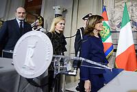 Roma, 4 Aprile 2018<br /> Maria Elisabetta Alberti Casellati<br /> Primo giorno di Consultazioni per la formazione del Governo