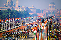 National Cadet Corps marching contingents, Republic Day Parade, Rajpath, New Delhi, India