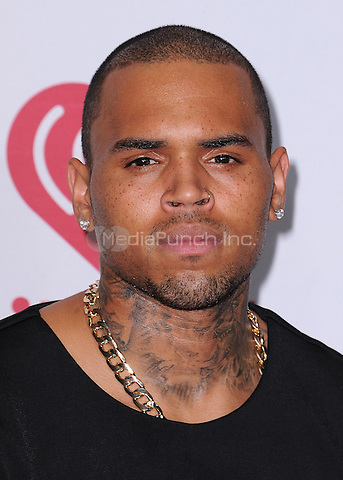 LAS VEGAS, NV - SEPTEMBER 19:  Chris Brown at the 2014 iHeartRadio Music Festival at the MGM Grand Garden Arena on September 19, 2014 in Las Vegas, Nevada. PGSK/MediaPunch