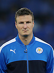 Leicester's Robert Huth during the Champions League group B match at the King Power Stadium, Leicester. Picture date November 22nd, 2016 Pic David Klein/Sportimage
