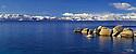 Lake Tahoe Scenic Winter Morning Panorama