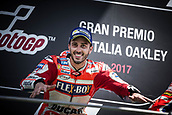 June 4th 2017, Mugello Circuit, Tuscany, Italy; MotoGP Grand Prix of Italy, Race day;  Winner ANDREA DOVIZIOSO DUCATI TEAM