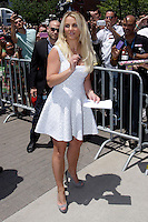 Britney Spears at the X-Factor auditions in Kansas City, Missouri. June 8, 2012. Credit: MediaPunch Inc. ***NO GERMANY***NO AUSTRIA*** NORTEPHOTO.COM