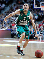 Zalgiris Kaunas' Ibrahim Jaaber during Euroleague 2012/2013 match.January 11,2013. (ALTERPHOTOS/Acero) NortePHOTO