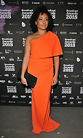 Jaye Jacobs at the Broadcast Awards 2018, Grosvenor House Hotel, Park Lane, London, England, UK, on Wednesday 07 February 2018.<br /> <br /> CAP/CAN<br /> &copy;CAN/Capital Pictures