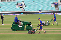 Preparation ahead of the warm up fixture at the Oval during India vs New Zealand, ICC World Cup Warm-Up Match Cricket at the Kia Oval on 25th May 2019