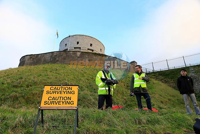 Millmount Survey <br /> Picture: Fran Caffrey www.newsfile.ie