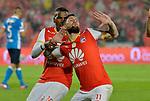 Independiente Santa Fe venció como local 2-1 a Millonarios. Partido aplazado de la fecha 2 Liga Águila I-2017.