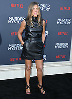 "10 June 2019 - Westwood, California - Jennifer Aniston. Netflix's ""Murder Mystery"" Los Angeles Premiere held at Regency Village Theater. Photo Credit: Birdie Thompson/AdMedia"