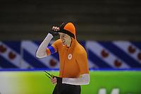 SCHAATSEN: HEERENVEEN: 16-01-2016 IJsstadion Thialf, Trainingswedstrijd Topsport, Lucas van Alphen, ©foto Martin de Jong
