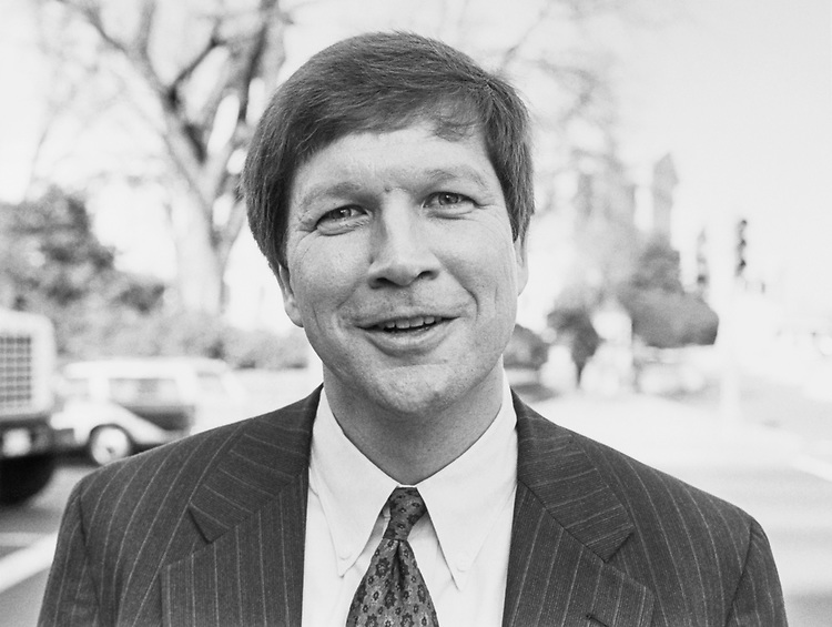 Rep. John Kasich, R-Ohio on Nov. 29, 1993. (Photo by Maureen Keating/CQ Roll Call)