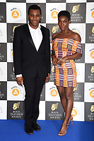 LONDON, UK. March 19, 2019: Michaela Coel arriving for the Royal Television Society Awards 2019 at the Grosvenor House Hotel, London.<br /> Picture: Steve Vas/Featureflash