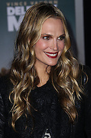 "HOLLYWOOD, CA - NOVEMBER 03: Actress Molly Sims arrives at the Los Angeles Premiere Of DreamWorks Pictures' ""Delivery Man"" held at the El Capitan Theatre on November 3, 2013 in Hollywood, California. (Photo by Xavier Collin/Celebrity Monitor)"