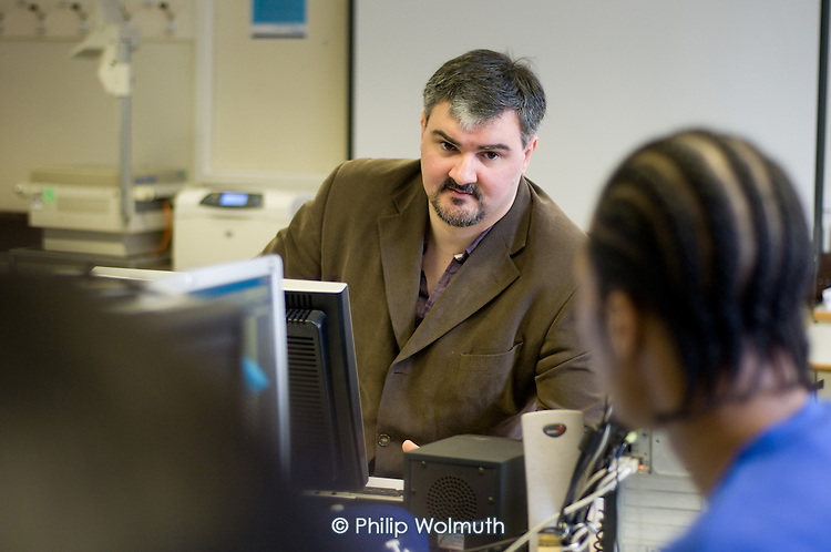 Steve Hannon, Coordinator for Media and Publishing at Stanmore College, Middlesex.