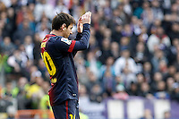 FC Barcelona's Leo Messi during La Liga match.March 02,2013. (ALTERPHOTOS/Acero) /NortePhoto