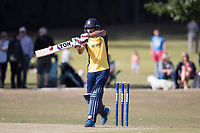 Ravi Bopara of Essex pulls to the wide mid wicket boundary during Upminster CC vs Essex CCC, Benefit Match Cricket at Upminster Park on 8th September 2019