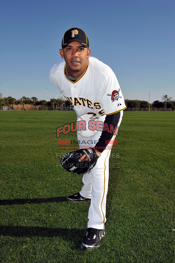 Feb 28, 2010; Bradenton, FL, USA; Pittsburgh Pirates  pitcher Octavio Dotel (29) during  photoday at Pirate City. Mandatory Credit: Tomasso De Rosa/ Four Seam Images