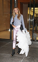 NEW YORK, NY August 29, 2017 Romee Strijd at Victoria Secret Fitting  at Victoria Secret Office in New York August 29 2017.Credit:RW/MediaPunch
