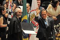 SÃO PAULO,SP,18.12.2018 - DIPLOMAÇÃO-SP - O governador eleito Joao Doria durante cerimonia de diplomação dos candidatos eleitos para assumir o cargo em janeiro 2019. A cerimonia foi realizada na sala São Paulo nesta terça-feira, 18. (Foto Dorival Rosa/Brazil Photo Press)