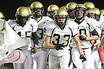 Lawndale, CA 10/21/11 - Luke Morrow (Peninsula #33) in action during the Peninsula - Leuzinger varsity football game.