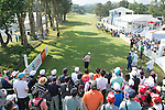 Edoardo Molinari of Italy tees off the first hole during the 58th UBS Hong Kong Golf Open as part of the European Tour on 11 December 2016, at the Hong Kong Golf Club, Fanling, Hong Kong, China. Photo by Marcio Rodrigo Machado / Power Sport Images