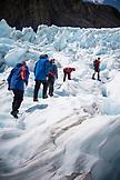 NEW ZEALAND, Franz Josef, Climging on Franz Josef Glacier, Ben M Thomas